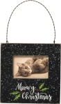 Cat Lover Meowy Christmas Decorative Mini Photo Picture Frame (Holds 3x2 Photo) from Primitives by Kathy