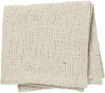 Farmhouse Style Woven Burlap Texture Cotton Cloth Napkin 15x15 from Primitives by Kathy