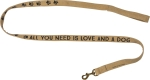 Dog Lover All You Need Is Love And A Dog Leash from Primitives by Kathy