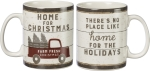 Home For Christmas Double Sided Stoneware Coffee Mug 20 Oz from Primitives by Kathy
