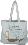 I Have Important Mermaid Stuff To Do Cotton Tote Bag from Primitives by Kathy