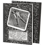 Every Girl's Dream Is Toe Eat & Not Get Fat Vintage Photo Themed Daily Journal (160 Lined Pages) from Primitives by Kathy