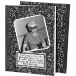 Being An Adult Won't Work For Me Vintage Photo Themed Daily Journal (160 Lined Pages) from Primitives by Kathy