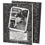The Office Said You Drinking Double Sided Vintage Photography Design Daily Journal (160 Pages) from Primitives by Kathy
