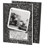 Double Sided Vintage Photography Why You Put Up With Me Journal (160 Lined Pages) from Primitives by Kathy