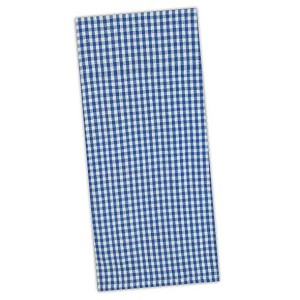 French Blue Chef Stripe Cotton Dish Towel 18x28 from Design Imports
