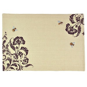 Busy Honey Bees Cotton Table Placemat 13x19 from Design Imports