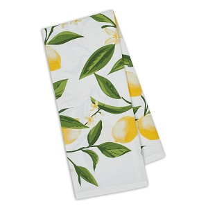 Lemon Bliss Printed Cotton Dish Towel 18x28 from Design Imports