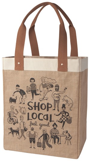 Shop Local Feel Good Market Shopping Tote Bag from Now Designs