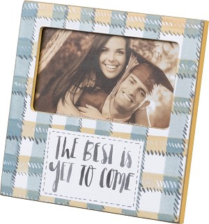 The Best Is Yet to Come Photo Picture Frame (Holds 5x3 Photo) from Primitives by Kathy