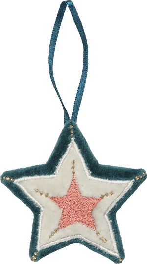 Triple Star Decorative Hanging Ornament 3x3 from Primitives by Kathy