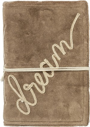 Embroidered Dream Luxe Velvet Journal (48 Unlined Pages) from Primitives by Kathy